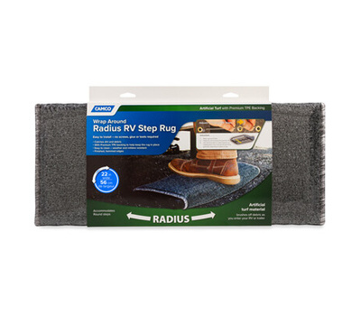 Camco 42950 22 Inch Gry Rv Step Rug