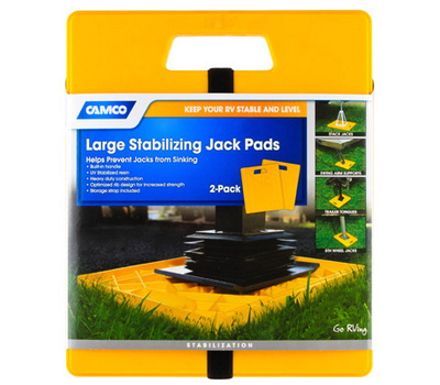 Camco 44541 Stabilizer Jack Pad 2 Pack