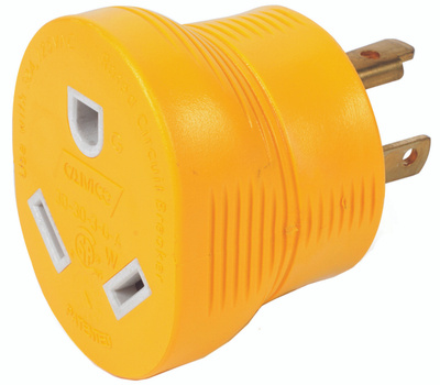 Camco 55333 Adapter 30m/30f 3-Prong 125v
