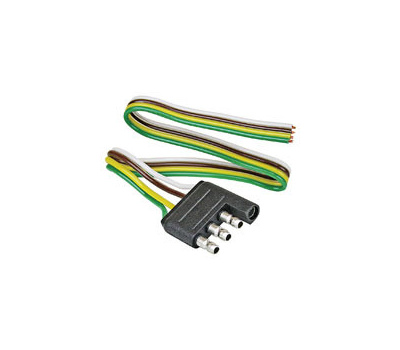 Sensational Reese Towpower 74124 Reesee 74124 4 Way Flat Trailer Wire Connector Wiring Digital Resources Bemuashebarightsorg