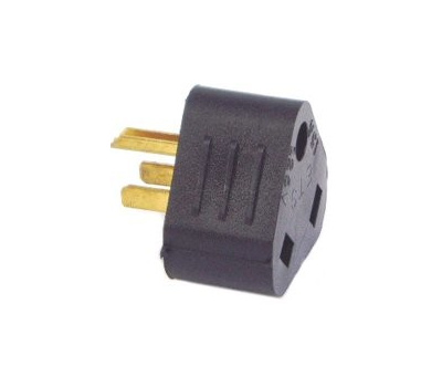 US Hardware RV-307C Electrical Adapter 30Amp Female 15Amp Male