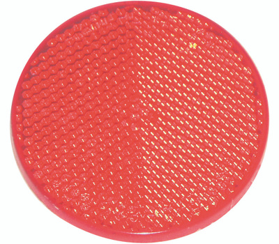 US Hardware RV-657C Red Reflector 2 Inch Nominal
