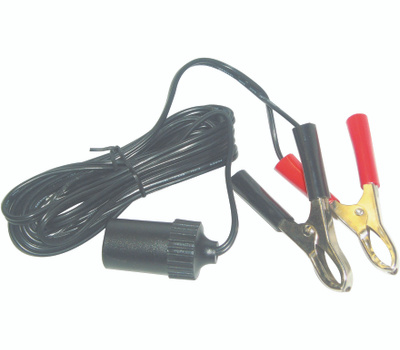 US Hardware RV-482B 12 Volt Extension Cord With Battery Cord 10 Foot
