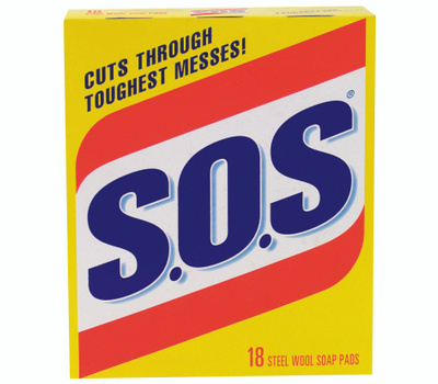 S O S 98018 18 Count S.O.S Pads