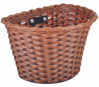 Kent International 65226 Basket Bicycle Medium Brown
