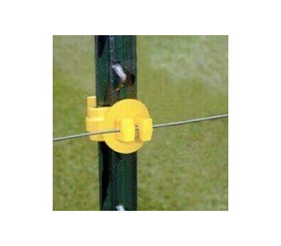 Fi Shock ITY-FS Insulator T Post Yellow Pack Of 25