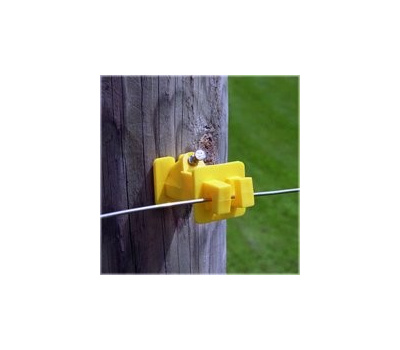 Fi Shock IWNY-FS Insulator Wood Post Yellow