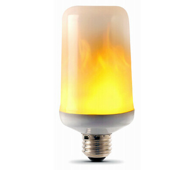 Feit Electric C/FLAME/LED Bulb Cylindr Flicker Flame Led
