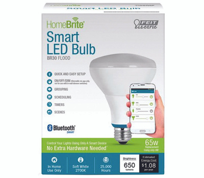 Feit Electric BR30/650/LED/HBR 9W BR30 Smart LED Bulb