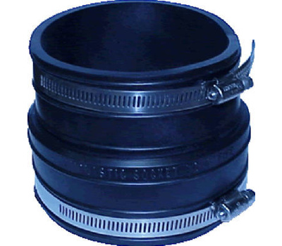 Fernco P1002 44 4 Inch Clay Pipe Coupling 018578000162 2