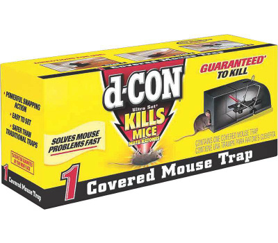 D Con 1920000027 d-CON Ultra Set Covered Mouse Trap