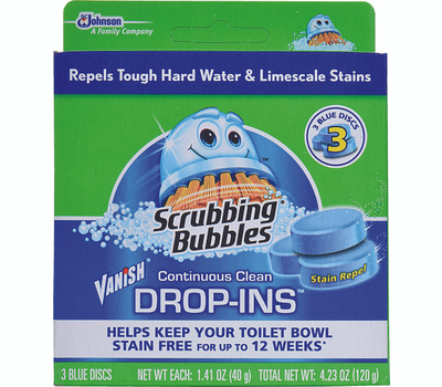Scrubbing Bubbles 70480 Vanish Bowl Cleaner Drop In 3 Pack