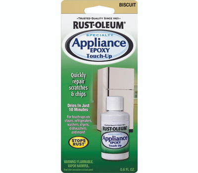 Rust-Oleum 203002 Specialty Biscuit Appliance Touch Up 0.6 Ounce Jars