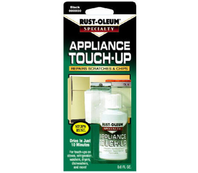 Rust-Oleum 213174 Specialty Black Appliance Touch Up 0.6 Ounce Jars