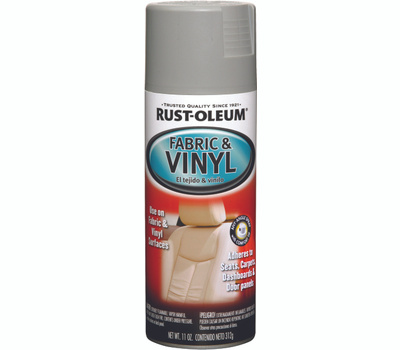 Rust-Oleum 248920 Auto Coatings Gray Fabric & Vinyl Spray