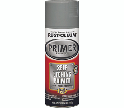 Rust-Oleum 249322 Auto Coatings Self Etching Rust Protective Primer Dark Green Spray