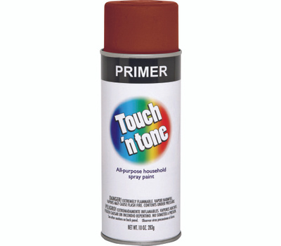 Rust-Oleum 253562 Touch n Tone Red Oxide All Purpose Spray Primer