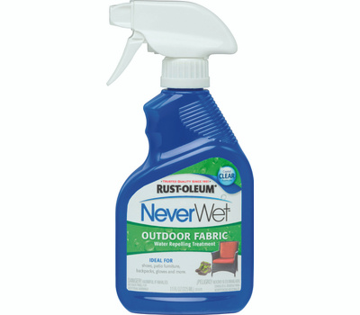 Rust-Oleum 278146 NeverWet Outdoor Fabric Crystal Clear 11 Ounce Trigger Spray