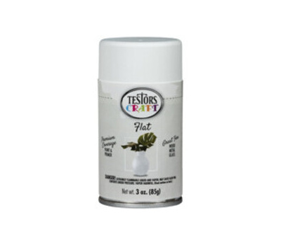 Testors 353610 Paint Spray Aero Flat White 3 Ounce