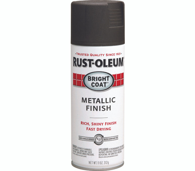 Rust-Oleum 7713830 Stops Rust Dark Bronze Bright Coat Metallic Finish Spray