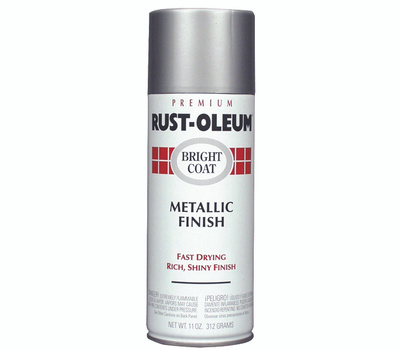 Rust-Oleum 7718830 Stops Rust Chrome Bright Coat Metallic Finish Spray