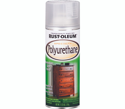 Rust-Oleum 7871830 Specialty Semi Gloss Interior Polyurethane Spray