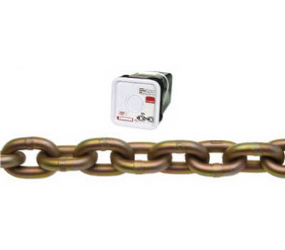 Campbell Chain 0510626 Transport Chain 3/8 Inch 45 Foot Yellow Chromate Steel