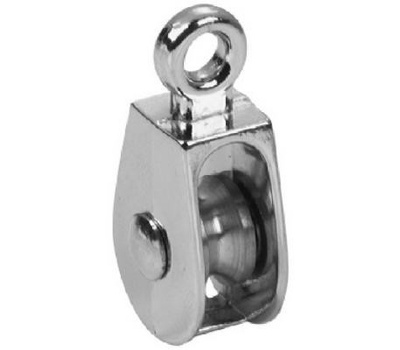 Campbell Chain T7655112 Single Rigid Rope Pulley 1 Inch