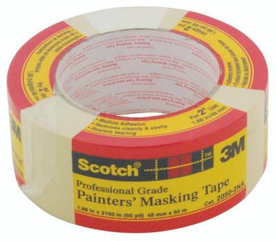 3M 2050 Scotch General Purpose Masking Tape 1.88 Inch By 60 Yards