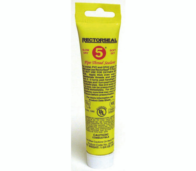 Rectorseal 25790 1 3/4 Ounce #5 Pipe Thread Sealant