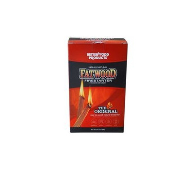 Wood Products 09984 Fatwood Firestarter Wd Stick Box 2 Pound