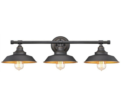 Westinghouse 63449 Fixture Wall Orb W/Hghlgts 3Lt