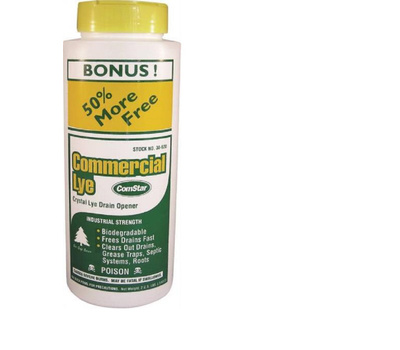 ComStar 30-620 Pure Commercial Lye Drain Opener 2 Pound