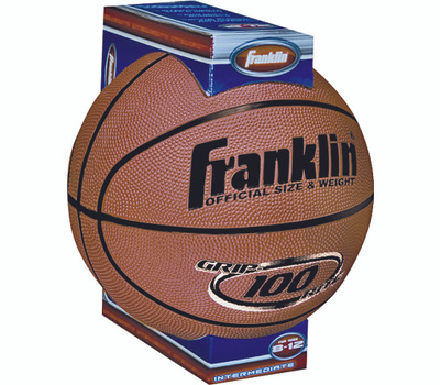 Franklin Sports 7107 Grip Rite Official Size Rubber Basketball