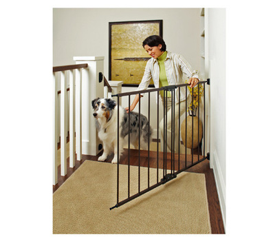 North States 4950 Brown Metal Swing Lock Gate 28 To 48 Inch Wide By