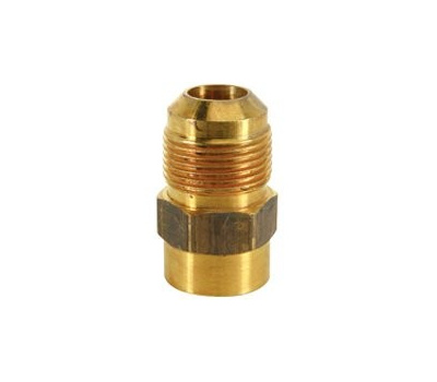 Brass Craft MAU1-10-8 Plumb Shop 5/8 Inch Outside Diameter Tube X 1/2 Inch Female Iron Pipe Mau1-Hr