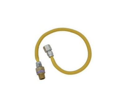 Brass Craft CSSL115E-36 P Plumb Shop Gas Connector 1/2 Inch Male By 1/2 Inch Female By 36 Inch