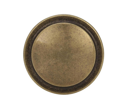 Amerock BP3443BB Allison Value Round Harmony Ring Style 1-1/4 Inch Cabinet Knob Burnished Brass
