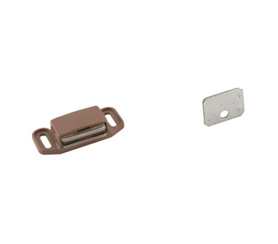Amerock BP3473PT Magnetic Cabinet Catch With Strike In Tan