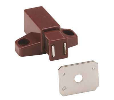 Amerock BP32301BR Magnetic Touch Latch In Brown