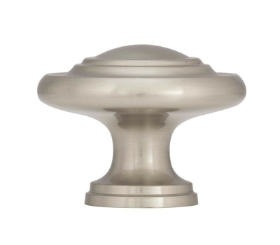 Amerock BP15862G10 Inspirations Oversized 3 Ring Style Zinc 1-3/4 Inch Cabinet Knob In A Satin Nickel Finish