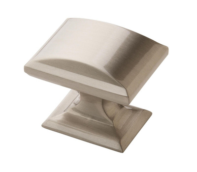 Amerock BP29340G10 Candler Collection Cabinet Knob 1-1/4 Inch Satin Nickel