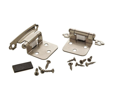 Amerock BPR342926 Imperia Variable Overlay Face Frame Mount Self Closing  Cabinet Hinges Polished Chrome