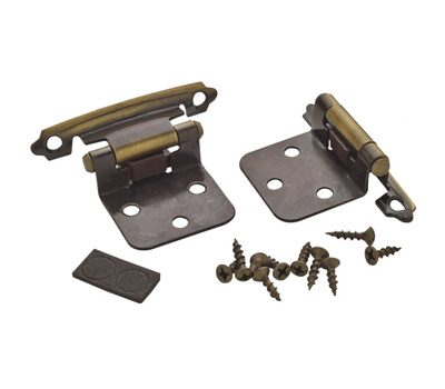 Amerock BPR3429AE Variable Overlay Cabinet Hinge In Antique Brass
