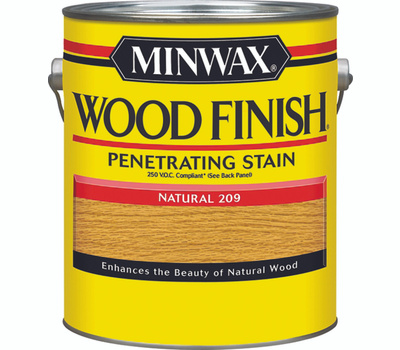 Minwax 71070 Natural Wood Finish 250 VOC Compliant Penetrating Stain Gallon Oil Based
