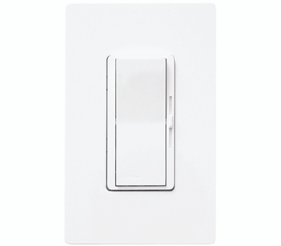 Lutron DVW-603PH-WH Diva 3 Way White Duo 600 W Dimmer
