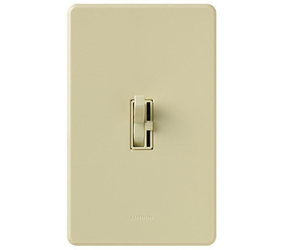 Lutron TGCL-153PH-IV Toggler IVY SP 3WY Togg Dimmer