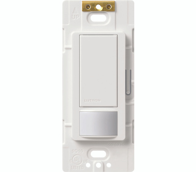 Lutron MS-OPS2H-WH Maestro Sensor Occ/Vacancy Switch Wht