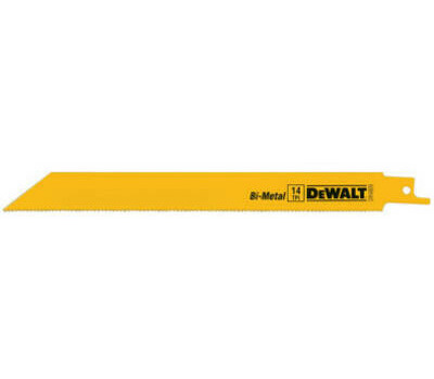 DeWalt DW4809 8 Inch Reciprocating Saw Blade Pack Of 5