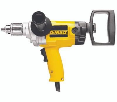 DeWalt DW130V 9 Amp 1/2 Inch Heavy Duty VSR Drill With Spade Handle